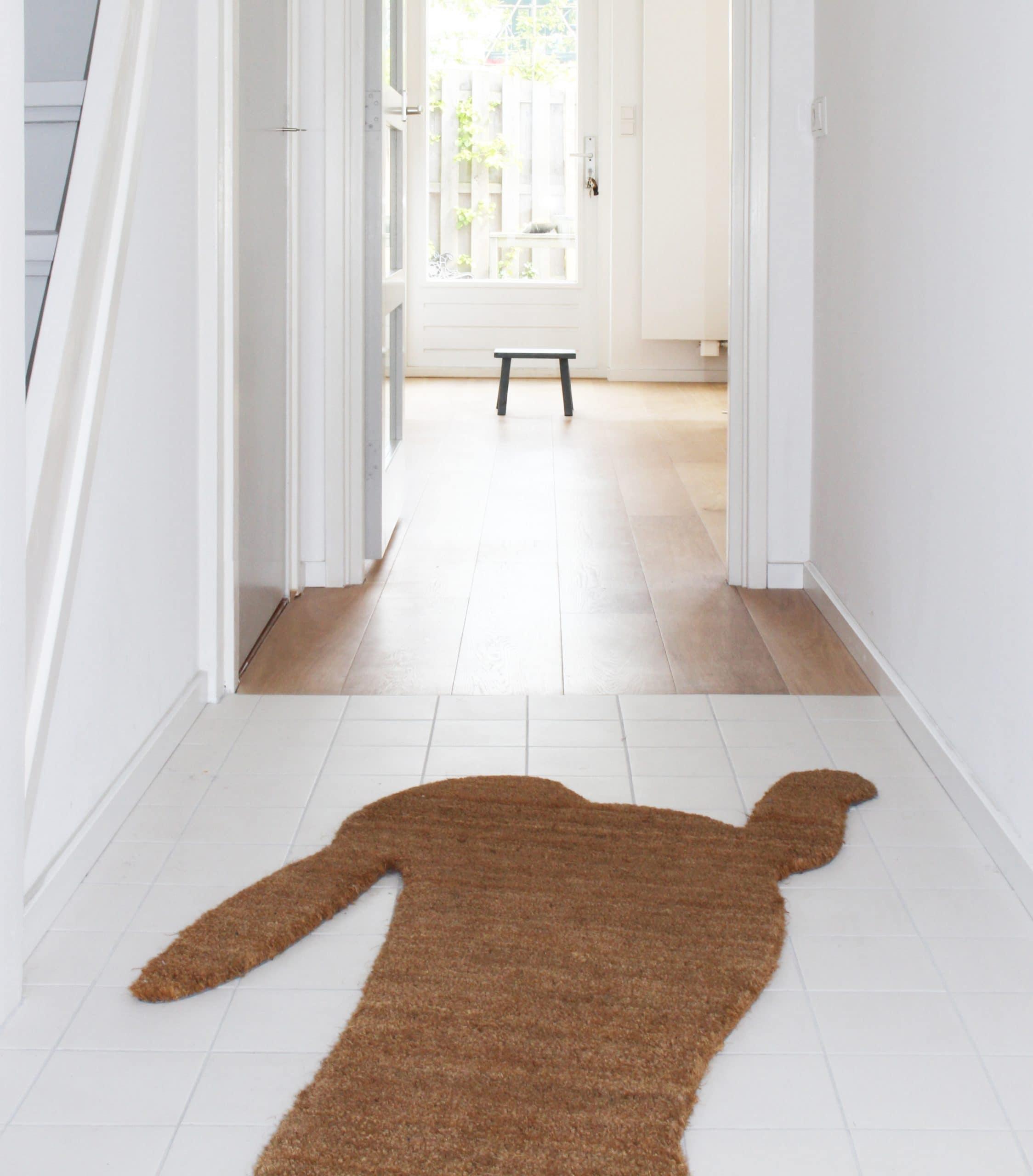 Hal overgang tegels naar houten vloer