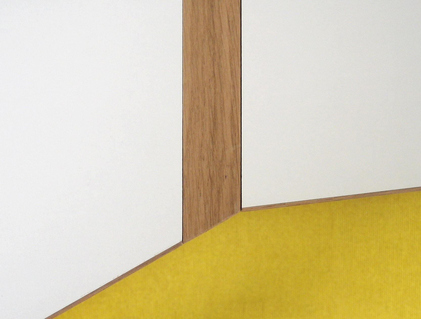 Detail inbouwkast werkkamer