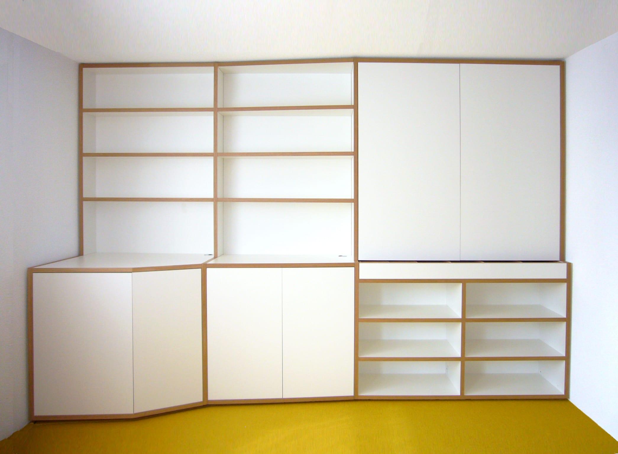 ontwerp inbouwkast werkkamer