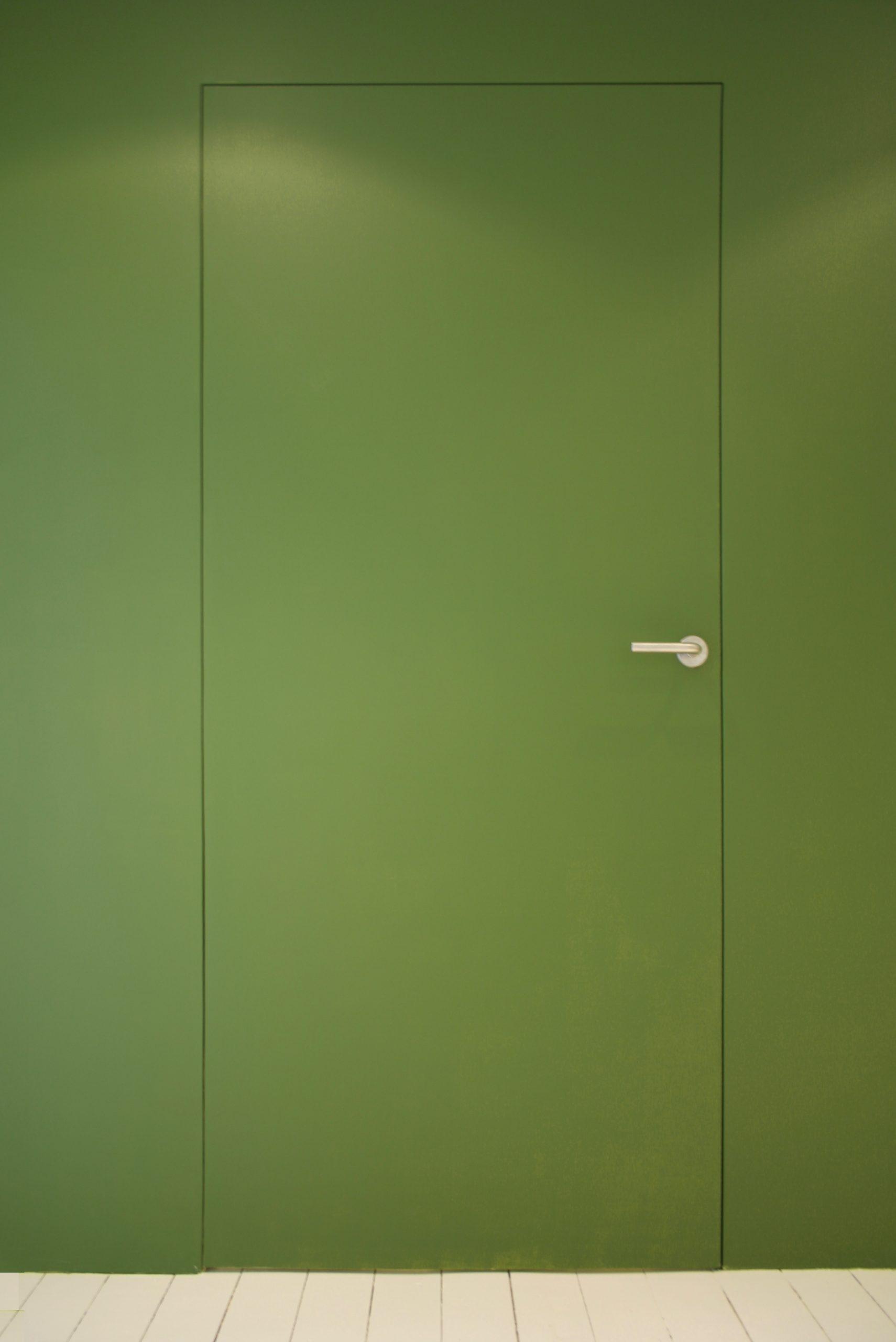 kozijnloze deur